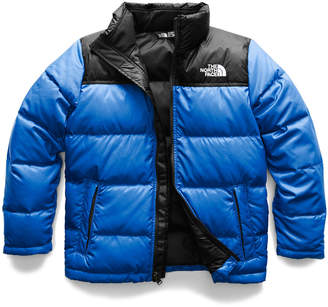 The North Face Nuptse Two-Tone Quilted Down Jacket, Size XXS-L