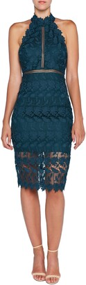 Bardot Noni Lace Halter Dress
