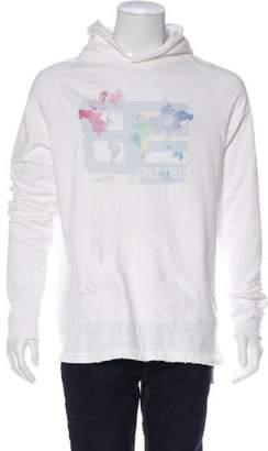 Baja East Hooded Graphic Sweatshirt