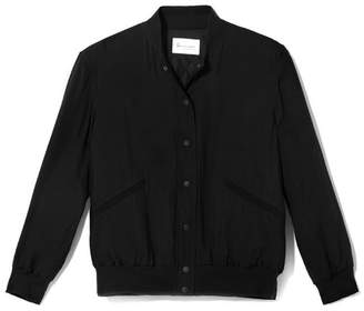 Vince Camuto Crinkle-texture Bomber Jacket