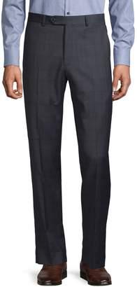 Tommy Hilfiger Flat Front Wool-Blend Dress Pants