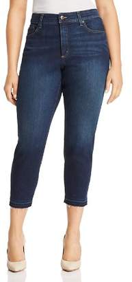 NYDJ Plus Alina Released Hem Ankle Jeans in Bezel