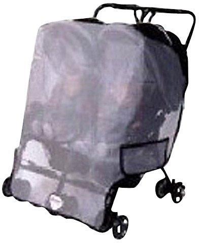 Mia Moda Sashas Sun, Wind, Insect Cover - MiaModa Facile Twin Side by Side Stroller