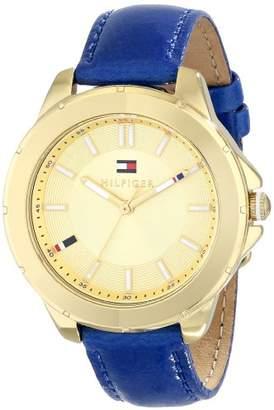 Tommy Hilfiger Women's 1781431 Analog Display Quartz Blue Watch