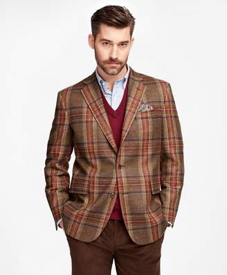 Brooks Brothers Own Make Red Plaid Sport Coat
