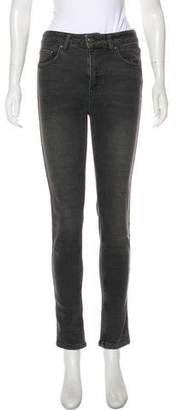 Anine Bing Mid-Rise Skinny Jeans