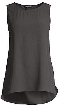 Eileen Fisher Women's Long Silk Tank Top