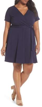 Dorothy Perkins Fit & Flare Wrap Dress