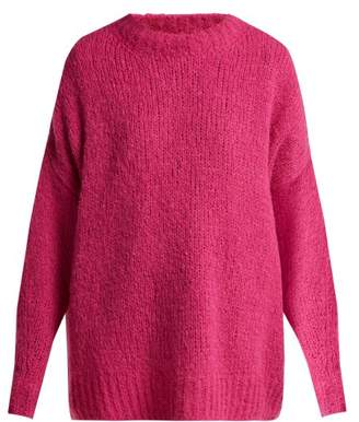Etoile Isabel Marant Sayers Oversized Knitted Sweater - Womens - Pink