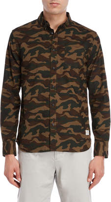 Penfield Camouflage Gridley Classic Fit Shirt