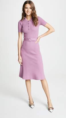 JoosTricot Rib Midi Collared Dress