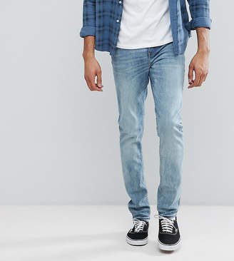 Cheap Monday TALL Sonic Slim Jeans Crew Blue