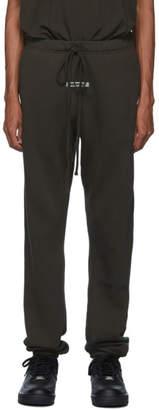 Essentials Khaki Logo Lounge Pants