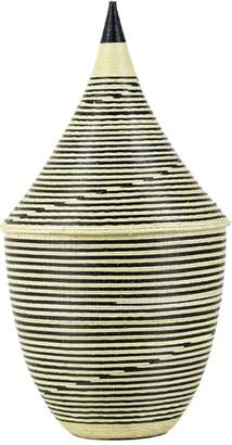 Lulu & Georgia Ode Striped Cathedral Basket