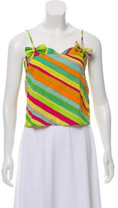Marc Jacobs Sleeveless Striped Top