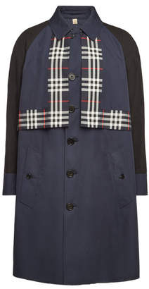 Burberry Marlbrook Cotton Trench Coat