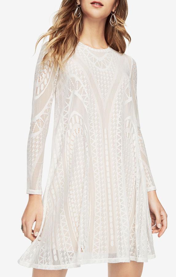 BCBGMAXAZRIANatyly Geometric Lace Dress