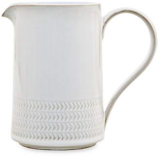Denby Natural Canvas Stoneware Textured Medium Jug