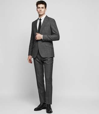 Reiss ANGEL Wool peak lapel suit