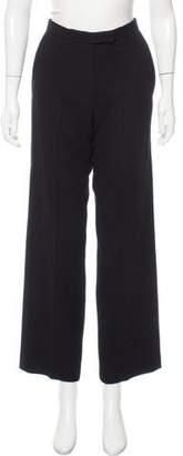 Ralph Rucci Wool Wide-Leg Pants