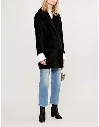 Claudie Pierlot Fancy shearling coat