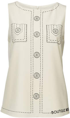 Moschino Printed Top