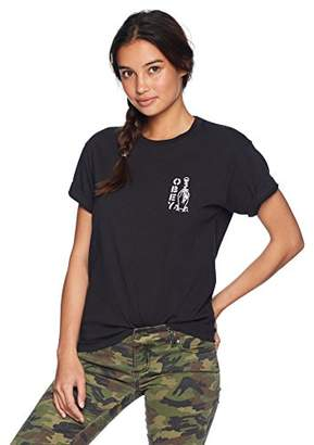 Obey Junior's Till Death Premium Boyfriend FIT Tshirt