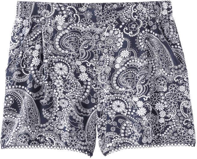 Joe Fresh Women's Print Short, Dark Navy (Size XL)