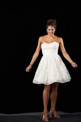 Jovani Whimsical Lace Dress