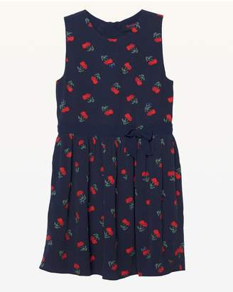 Juicy Couture Cherry Bisou Print Crepe Dress for Girls