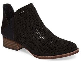 Women's Vince Camuto Celena Perforated Bootie $139.95 thestylecure.com