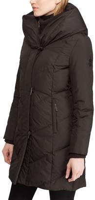 Lauren Ralph Lauren Pillow Hood Quilted Coat