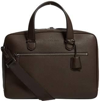 Graf Von Faber Castell Leather Cashmere Briefcase