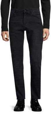 Cooper Relaxed Skinny-Fit Dark Jeans