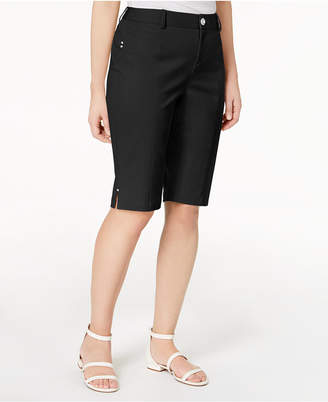 INC International Concepts I.n.c. Curvy-Fit Bermuda Walker Shorts, Created for Macy's