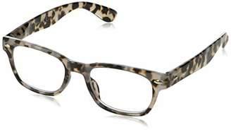 Peepers Unisex-Adult Clark Focus 2600200 Square Reading Glasses