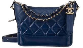 Chanel 2018 Small Gabrielle Hobo Navy 2018 Small Gabrielle Hobo