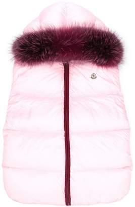 Moncler quilted stroller sleeping bag