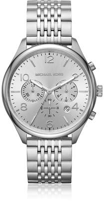 Michael Kors Merrick Stainless Steel Chronograph Watch
