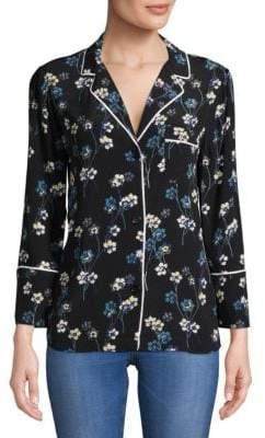 Ella Moss Printed Pajama Top
