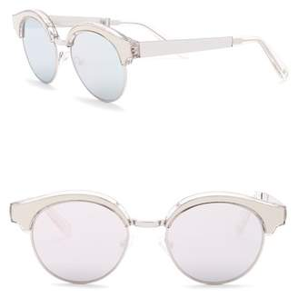 Le Specs Cleopatra 52mm Clubmaster Sunglasses