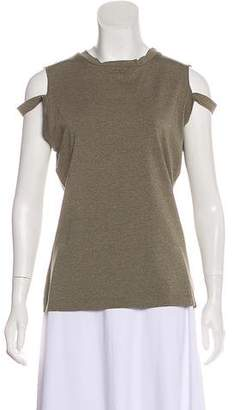 Nicole Miller Sleeveless Crew Neck Top w/ Tags