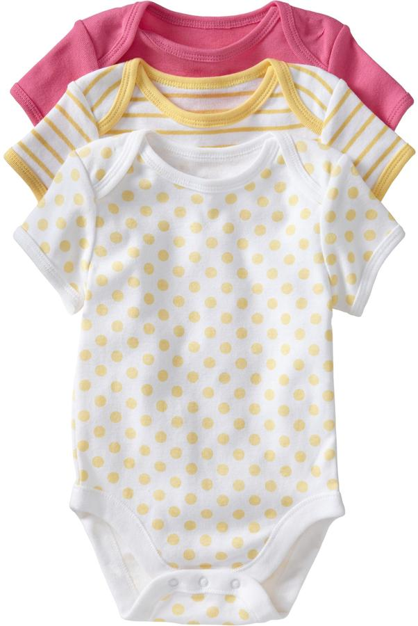 Old Navy Jersey Bodysuit 3-Packs for Baby