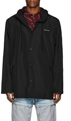 Balenciaga Men's Logo Rain Jacket