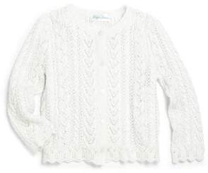 Ralph Lauren Baby Girl's Pointelle Cardigan