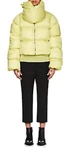 Rick Owens Women's Down Crop Puffer Jacket - Lime