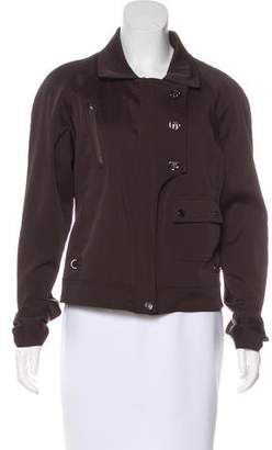 Salvatore Ferragamo Zip-Up Casual Jacket