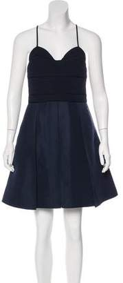 Proenza Schouler Silk Pleated Dress