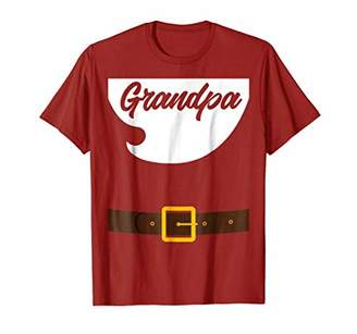 X-mas Grandpa Santa Claus Costume Shirt for Grandfather