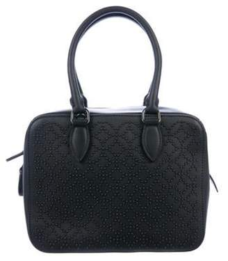 Alaà ̄a Leather Arabesque Satchel Black Alaà ̄a Leather Arabesque Satchel